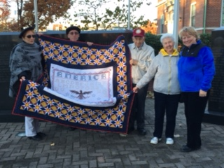 Quilt of Valor photo 11/11/2016